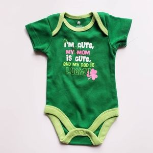 Other - I'm Cute My Moms Cute Dads Lucky Onesie